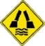 Movable bridge ahead warning sign